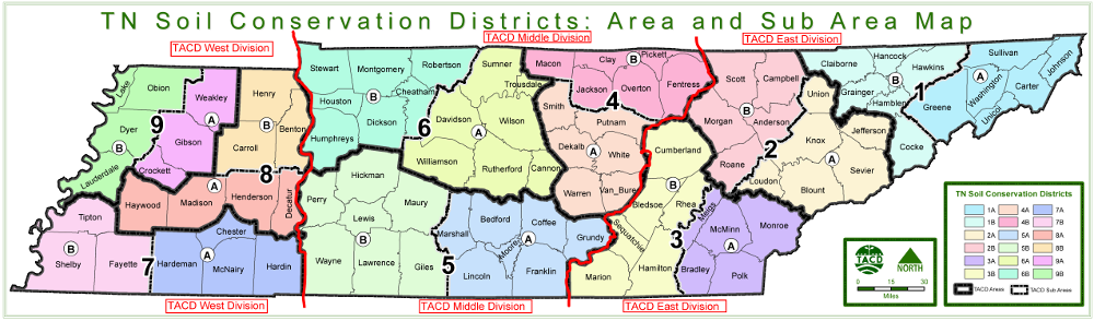 TACD districts